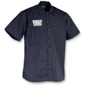 Throttle Threads Los Muertos Shop Shirt   Large/Black