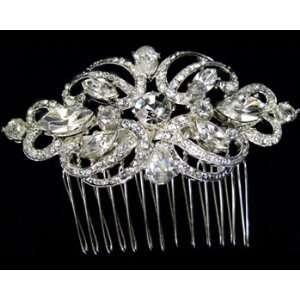 Rhinestone Hair Comb 2335 Beauty