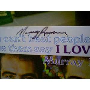 Roman, Murray LP Signed Autograph You CanT Beat People Up And Have