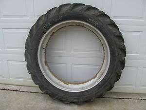 FARMALL M H REAR WHEEL TIRE & RIM SM SH JD JOHN DEERE 5 21 12
