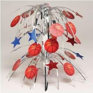 All Star Basketball Mini Cascading Centerpiece: Toys & Games