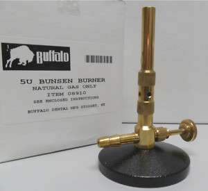 BUFFALO BUNSEN BURNER 5U NATURAL GAS ONLY 005 8910