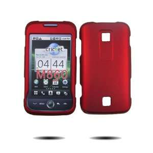 Fortress Brand Rubber Feel Red   Hard Cover Faceplate