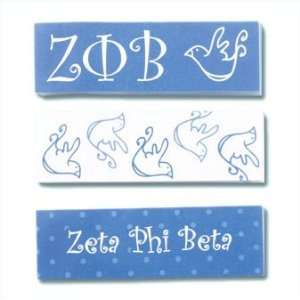 Zeta Phi Beta Sticky Tabs: Office Products
