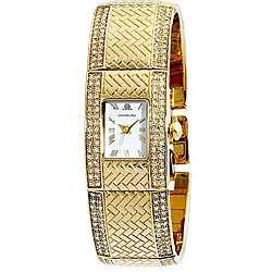 Jennifer Lopez Collection Womens Goldtone Watch