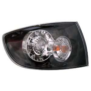 Mazda Mazda  3 4D 07  09 Tail Light (Led Type) Tail Lamp Driver Side