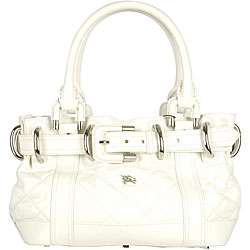 Burberry Baby Beaton Small Quilted Leather Bag