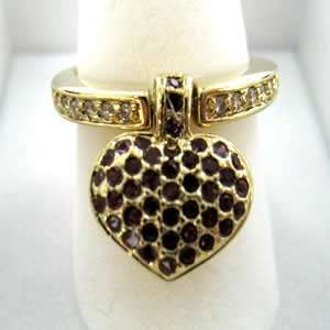 Jewelry   Change of Heart Gold Tone Ring SZ 9 Jewelry