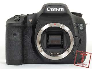 A2374 Canon EOS 7D DSLR Body HD Movie+Gifts+1Year Wty