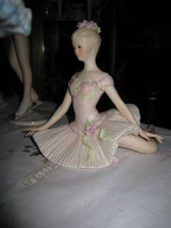 Cybis Porcelain Ballerina Karina Figurine BEAUTIFUL