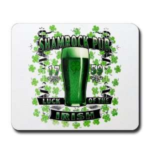 Mousepad (Mouse Pad) Shamrock Pub Luck of the Irish 1759 St Patricks