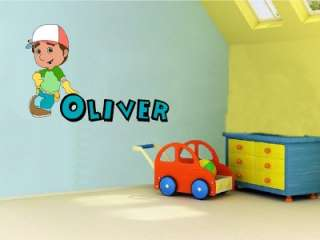 HANDY MANNY Bedroom Vinyl Wall Art Sticker Decal