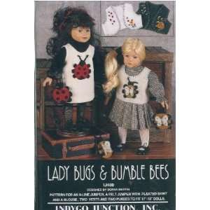 Bees   Clothes for 17 19 Dolls [Sewing Patterns] Toys & Games