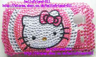 Hello kitty Bling Case Cover For HTC Droid Incredible 6300 #3