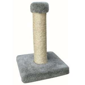 Cat Scratching Post w Non Oiled Sisal Rope and Carpet Pet