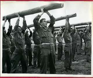 1950 Fort Dix New Jersey Physical Training Lifting Log