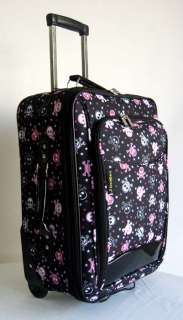 Piece Luggage Set Travel Bag Rolling Wheel Upright Expandable Pink