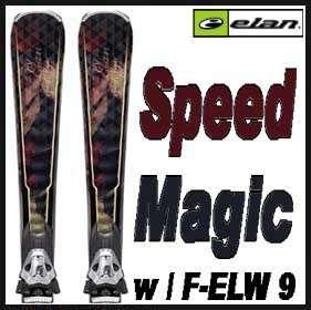 10 11 Elan Waveflex Speed Magic Skis 155cm w/Elw9 NEW