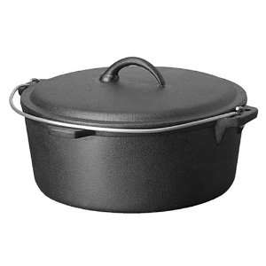 Range Kleen Pre Seasoned Cast Iron 4 1/2 Quart Round Dutch