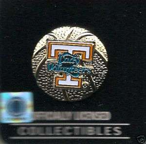 New UT Tennessee Lady Vols Basketball Collectible Pin
