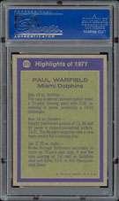 1972 Topps #271 Paul Warfield All Pro PSA 10 Gem Mint