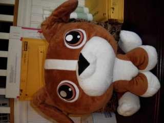 LPS LITTLEST PET SHOP PLUSH BOXER DOG LARGE 50692/50698