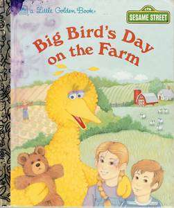 Big Birds Day on the Farm, Little Golden Book