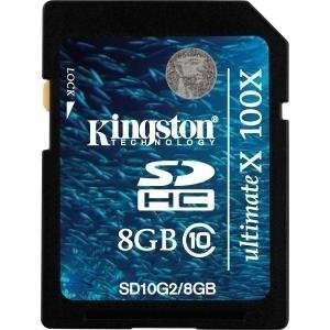 NEW 8GB SDHC Class 10 Flash Card (Flash Memory & Readers