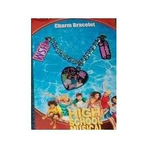 High School Musical Heart Vacation Charm Bracelet