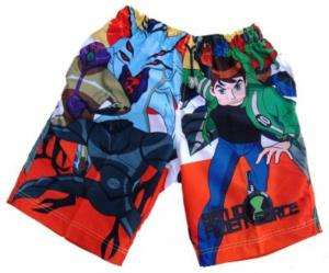 BEN 10 ALIEN FORCE Shorts Boys Size XL Age 8 9 Years