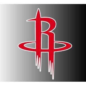 Houston Rockets logo sticker vinyl decal 5 x 3.7