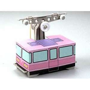 Aerial Ropeway Passenger Cabin Educational Model Kit: Toys & Games