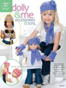 Crochet Patterns Matching Accessories Girls 18 Dolls