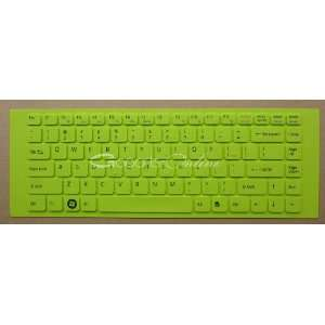 Green Keyboard Cover/Skin Protector for Sony VAIO VGN NW VGN FW VPC Y