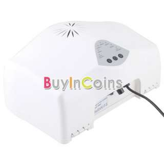 Curing Lamp Manicure Nail Art Dryer Timer Adjustable 6 Bulbs #1