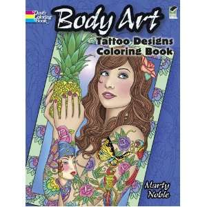 Body Art Tattoo Designs Coloring Book (Dover Design