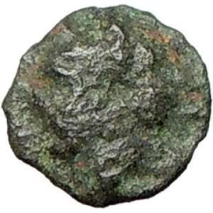 Rare Ancient Greek Coin Turreted female head BEE