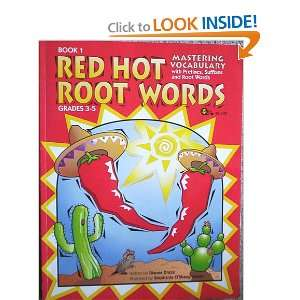 Red Hot Root Words, Book 1 (9781883055578) Dianne Draze