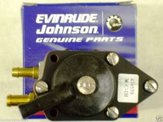 Evinrude/Johnson OMC Fuel Pump Assembly OEM 438559 NEW