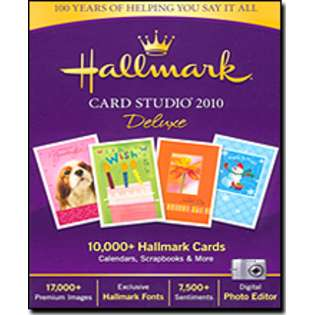 Hallmark Card Studio 2005 Graphic Design Software
