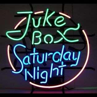 Jukebox Saturday Night Neon Sign  Neonetics Fitness & Sports Game Room
