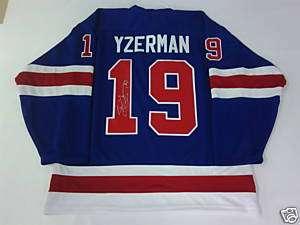 Steve Yzerman Signed Hockey Hall of Fame L/E Jersey
