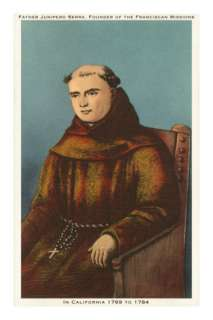 Father Junipero Serra, California Missions Posters at AllPosters