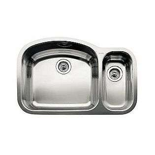 Sink Polished Satin Stainless Steel  Blanco Tools Kitchen Sinks