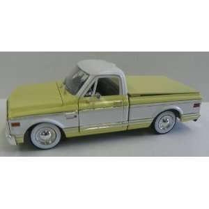 1972 Chevy Cheyenne Two Tone Color in Yellow and White Toys & Games