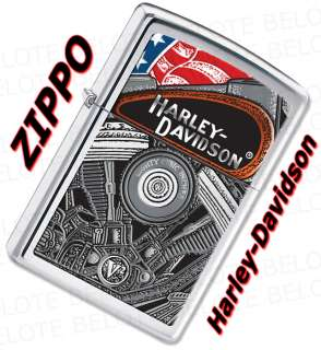 Zippo Harley Davidson Engine Windproof Lighter 28081
