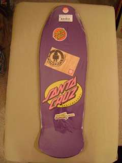 Santa Cruz Rob Roskopp FACE 2 Skateboard Deck PURPLE