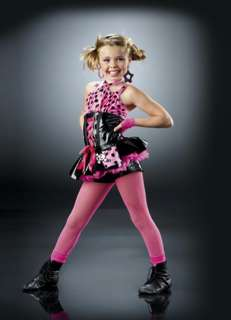 DONT CHA Tap Halloween Ice Skating Pageant Dance Costume SIZE CHOICE