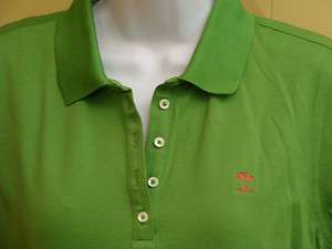 New Womens Fairway & Greene Green Golf Polo Top Size Medium