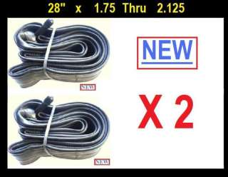 28 inch Bicycle Bike Cycle Inner Tube 28x1.75 2.125 x2